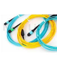 Quality MPO / MTP  -  MPO / MTP  male / female MPO MTP cable single mode patch cord for sale