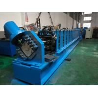 Quality C Purlin Cold Roll Forming Machine With New Type Punching And Turk's Head Straightener for sale