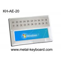 Best Weather - proof Stainless Steel Ruggedized Keyboard with 20 keys for Medical Kiosk wholesale