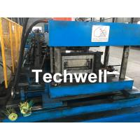 Quality High Speed GI / Carbon Steel Coil Profile / Cable Tray Forming Machine 11KW for sale