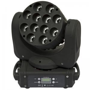 Quality Led Mini Beam  Wash Moving head light 12x12w for sale