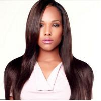 China Body Wave Cambodian Virgin Hair Straight 100 Remy Human Hair Extensions on sale