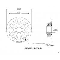 Quality 205KRP2-6PF Double Seal  Nonstandard Agricultural Machinery Bearing High Precision Certified ISO9001 for sale