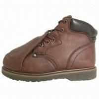 Best Work Boots with Metatarsal Protection and Cow Leather Upper wholesale