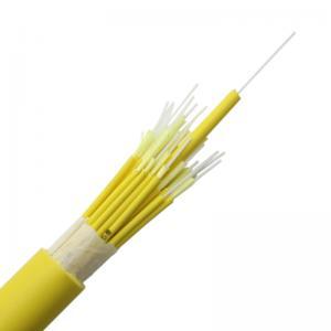 Quality GJFJV Breakout Om2 48core Optical Fiber Cable LSZH for sale
