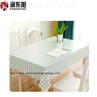 Quality Transparent Food Grade Plastic Bags PVC Environmental Protection Material Tablecloth for sale