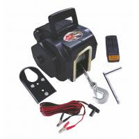 Best 3500 LB Line pulling remote control Portable power Electric Boat 12V DC Winch wholesale