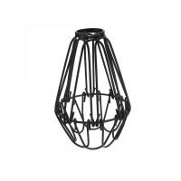 Quality Decorative CT2 Metal Light Bulb Cage , Ceiling Fan Wire Cage Pendant Light for sale
