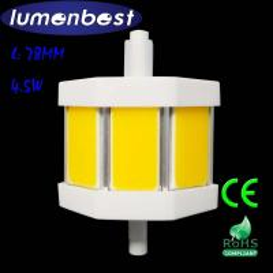R7S LED R7S BULB COB Aluminum+Plastic 4.5W 78mm(78mm*54mm)