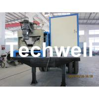 Quality 17.7KW Electric Control K Span Arch Roof Roll Forming Machine For Large Span Roof for sale