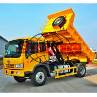 Quality 8 - 10 Tons Utility Dump Truck For City Multipurpose Left / Right Hand Drive Optional for sale