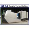 Buy cheap Industrial Sludge Dewatering Machine Dehydration Muiti Disc Screw Filter Press from wholesalers
