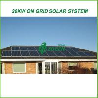 Best One stop solution 20kw on grid solar energy products for grid tied solar system wholesale