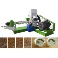 Quality 2t Floating Fish Feed Production Line For Floating Fish Feed Pellet Factory for sale