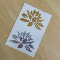Best Temporary Gold Silver Lotus Body Tattoo Sticker wholesale