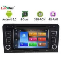 Quality Touch Screen Gps Android Audi Car DVD Player With Bluetooth Playstore for sale