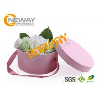Best Cylindrical Wedding Candy Gift Paper Round Flower Box For Bridal And Baby Shower wholesale