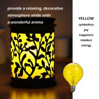 Buy Wax Warmer Bulbs Dimmable Incandescent Light Bulb filament , G50 Round 25 Watt at wholesale prices