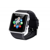 Quality WRC GSM Pedometer Bluetooth Smart Watches Black Support Android for sale