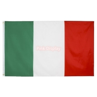 Quality Silkscreen Rectangle Banner ODM Simple Country Flags for sale
