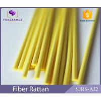 Best Yellow Straight Synthetic Polyester Reed Diffuser Sticks Scent Diffuser Sticks Smooth wholesale