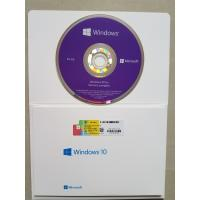 Quality Multi Language Computer Software System Microsoft Windows 10 Pro 64 Bit OEM DVD for sale
