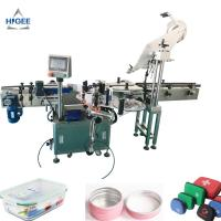 Quality Labeling machine for flat top chocolate box blood bags bottle plane surface sticker labeling applicator corner expire d for sale