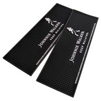 Quality Custom Bar Mat, Drip Runner Mat, Coaster, made of non-toxic durable PVC, thick, strong, elastic, heat-resistance for sale