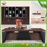 China 2017 superior quality competitive price modern executive desk CEO office desk on sale