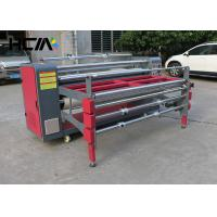 Multi - purpose Roller / Pieces Textile Rotary Heat Press Machine For Scarf