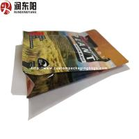 Quality Moisture Proof Stand Up Bag Packaging Heat Seal Bag Resealable 0.05-0.20mm Thinckness for sale