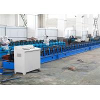 Quality PV Power C Channel Roll Forming Machine 35KW 41*41mm Bracket Galvanized Steel for sale