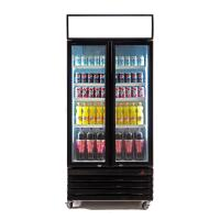 Quality 580L Commercial Supermarket Refrigeration Equipment , Reach In Beverage Cooler for sale
