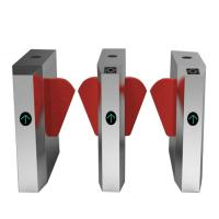 Quality Supermarket Barrier Posts Turnstile Access Control Security Systems High Sensitivity for sale