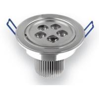 Quality 120V LED High Power 5 * 1W 5Watt Cabinet recessed LED Light Fixtures Commercial 30º 60º for sale