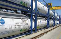 Quality refrigerant gas in ISO tank for sale