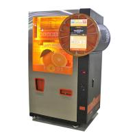 Buy cheap Credit Card /Coins / Notes acceptors Commercial Automatic Orange Juice Vending from wholesalers