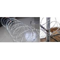 Quality Decorative Patterns  PVC Coated Razor Barbed Wire.Fencing Wire Mesh for sale