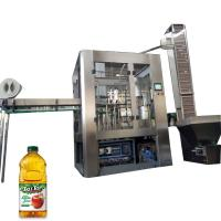 Quality Small Aseptic Juice Beverage Filling Machine For 30 - 90 Mm Diameter Bottle for sale