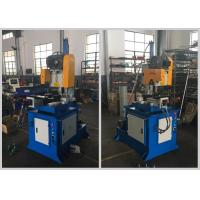 Quality Custom Semi Automatic Pipe Cutting Machine Two Way Clamps Low Noise Low Pollution for sale