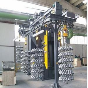 China Overhead Chain Hanger Shot Blasting Machine High Chrome One Year Warranty on sale
