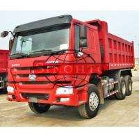 Quality 3 Axles Utility Dump Truck 290hp / 336hp Engine Power Assistant LHD / RHD Steering for sale