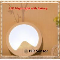 Quality Human-body Detection and optical sensor LED Night Lamp with Battery for sale