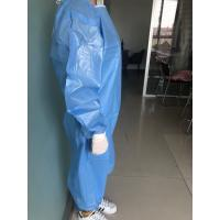 Quality Eco Friendly Disposable Isolation Gown Non Woven Fabric Material for sale