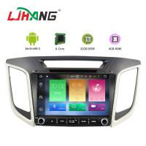 Quality AUX Video Hyundai Santa Fe Dvd Multimedia System PX5 Quad Core 8*3Ghz for sale