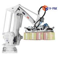 Buy cheap 10 Cycles / Min Robotic Palletizing System 50 / 60Hz Frequency Easy Palletizable from wholesalers