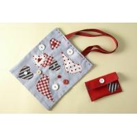 Quality small paper button bag for sale
