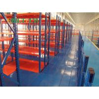 Quality Warehouse Heavy Duty Metal Stairs And Platforms With Super Raised Storage Area for sale