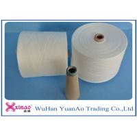 Best Raw White Virgin 100 Polyester Yarn Z Twist Good Evenness for Sewing wholesale