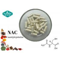 Quality Amino Acid NAC N-Acetyl Cysteine 500 Mg Capsule With Antioxidant Properties for sale